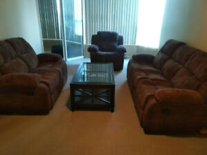 RECLINER SOFA IN BRAND NEW LIKE CONDITION at 65-70% OFF
