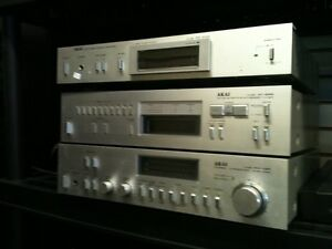 Vintage AKAI Integrated Amplifier with Matching am/fm Tuner London Ontario image 1
