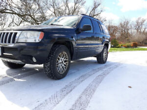 2004 Jeep Grand Cherokee Fully loaded SUV, Crossover