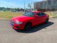 AUDI A5 1.8T FSI SPORT 2 DOOR COUPE 2008 58 REG 75,000 MILES RED FULL HISTORY