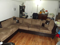 Sectional couch GREAT VALUE !!