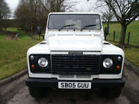 Land Rover Defender 90 TD5, one owner with very low miles