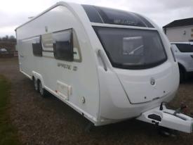 Swift Quattro FB 6 berth fix bed 2014