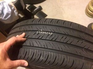 235/55/R17 - OEM CONTINENTAL All-Season TIRES AND RIMS  Cambridge Kitchener Area image 3