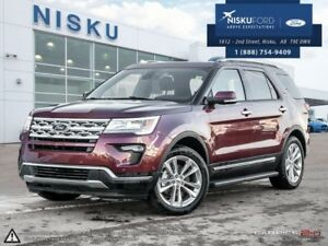 2018 Ford Explorer Limited 4WD  - Sunroof - Park Assist