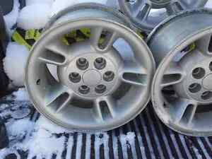 "4 - 15"" Aluminum Alloy Dodge Ram Mag Rims Peterborough Peterborough Area image 2"