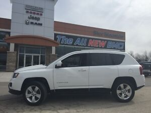 2015 Jeep Compass North 4x4  ACCIDENT FREE, 4WD, EASY FINANCING