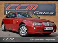 Rover 75 1.8 Classic A/C 4DR 2005 + ONE OWNER + 50,000 MILES + WARRANTY +