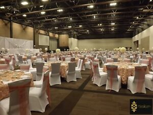 Wedding and Party Rentals ( chair cover $1.00 & linens and more) Edmonton Edmonton Area image 7
