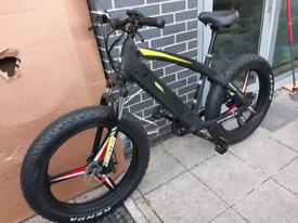 BRAND NEW green way ELECTRIC FAT bike RRP£ 1500