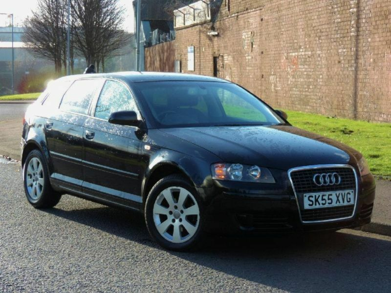 2005 audi a3 1 6 fsi se sportback 5dr in glasgow gumtree. Black Bedroom Furniture Sets. Home Design Ideas