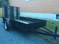 2013 5 x 10 Drop Down Ramp Trailer