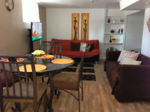 Must See Fully Furnished Apartment- All Utilities, WIFi Included