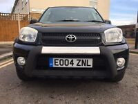 TOYOTA RAV4 WITH LEATHER SEATS ELECTRIC SUNROOF PARKING SENSORS