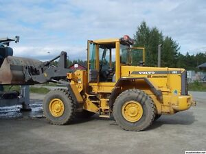 WANTED Volvo L90D parts