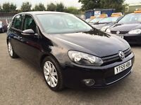 VW GOLF 2.0 GT TDI 140 6 SPEED 2010 / CAMBELT DONE / FULL DEALER HISTORY / 2 KEEPERS / HPI CLEAR