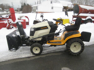 """CUB CADET Lawn Tractor with 42"""" snowblower"""