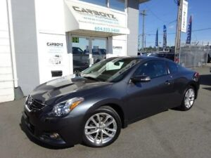 2010 Nissan Altima 3.5 SR Coupe, Leather, Sunroof, 1 Owner, Low