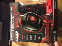 Selling Sound Blaster Tactic 3D Rage headset