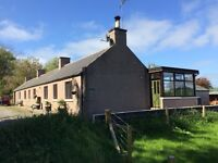 """Ythanview Cottage"" - a four bedroomed, detached home in a stunning rural location"