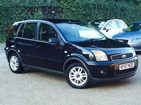 2007 Ford Fusion 1.4 Zetec Climate 5 Door Black only 23,884 Miles FSH SUPERB!!!!