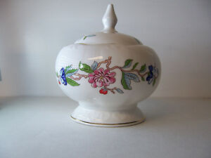 Aynsley Fine Bone China Sugar Bowl - Pembrook