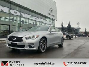 2015 INFINITI Q50 AWD  - Leather Seats - Back Up Camera