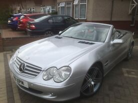"2004 Mercedes-Benz SL Class 3.7 SL350 2dr AMG Edition with 19"" AMG alloys."