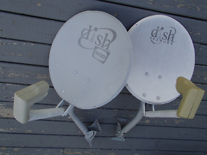 Satellite Dishes work with bell system