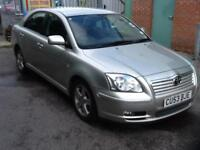 Toyota Avensis 1.8 VVT-i T3-X FULL MAIN DEALER HISTORY 13 STAMPS 2 OWNERS