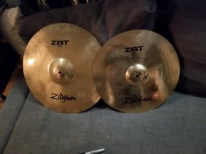 Cymbales zildjian 16  18 crash