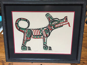 FIRST NATION ART - Limited Edition Set of 4 by William Wasden