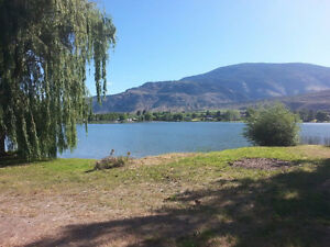 Lakefront RV and Site for Rent in Oliver BC!