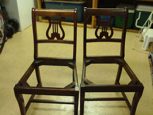 Pair of Matching Chairs- great for DIY