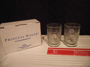 Princess House Crystal Votive/Tealight Holders (set of 2) Edmonton Edmonton Area image 2