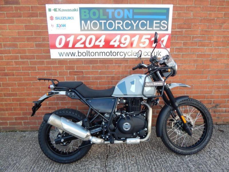 Royal Enfield Himalayan Sleet Motorcycle In Bolton