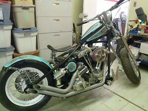 Custom Shovelhead, Completely Rebuilt and Original