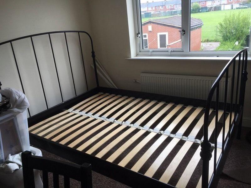 Ikea Super King Size Lillesand Bed Frame And Slats In Hedge End