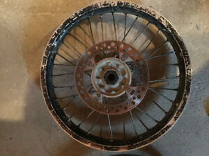 Crf450r Rims/Rotors/Spacers