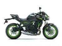 Kawasaki 2021 model Z650 prices from £6849