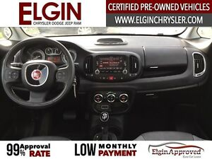 2015 FIAT 500L Lounge***Leather,Pano,Navi,B-up Cam*** London Ontario image 10