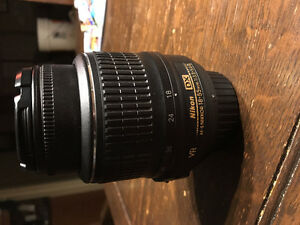 Nikon NIKKOR AF-S VR 18-55mm F3.5-5.6G DX Lens for Sale Peterborough Peterborough Area image 1