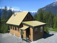 BELLA COOLA mountain cabin
