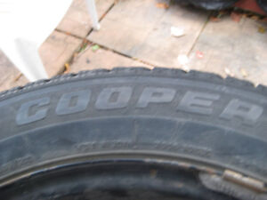 Winter tires with rim 205-60-15