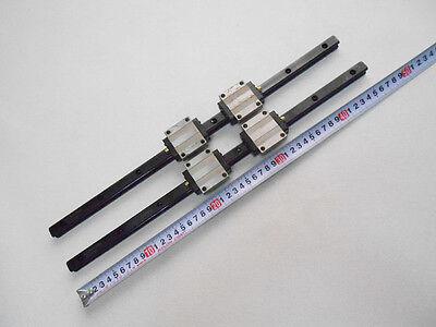 Thk Hsr15 Linear Bearings Rails L460mm Cnc Nsk Router Block