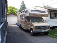 86 ford frontier motorhome