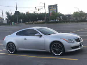 Infiniti G37 Coupe (2 door) great condition (low mileage)
