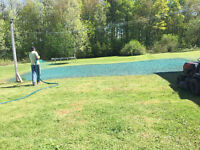 Hydroseeding & lawn renovation