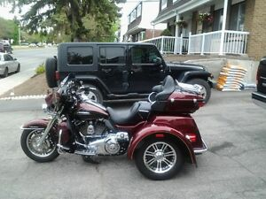 2014 harley davidson tri glide ultra showroom condition