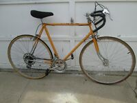Wanted old ten speed bikes
